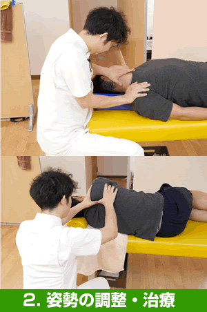 姿勢の調整・治療