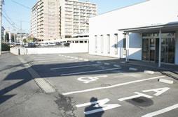 広々駐車場あり